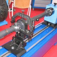Balansmaskin för axlar