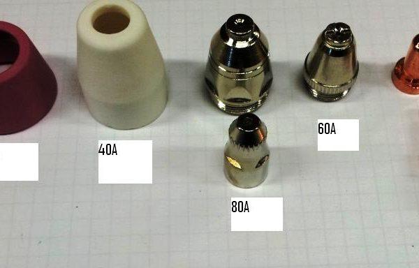 Plasmamunstycken 40-80A